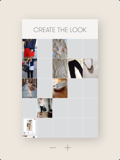 Create the look in Curator