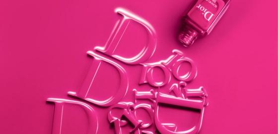 Esmaltes Dior efecto gel
