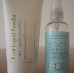 Foot Spray y Foot Liquid Powder de Garden Angels