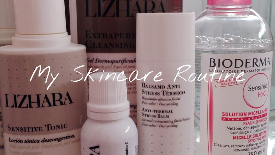 My skincare routine video