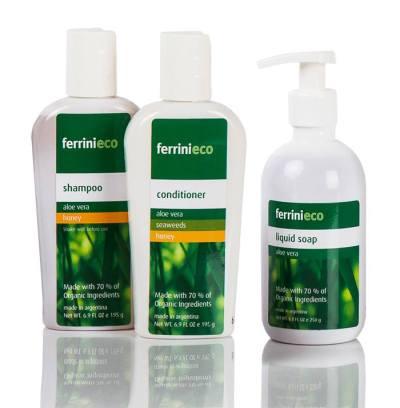 FerriniEco shampoo y acondicionador organico