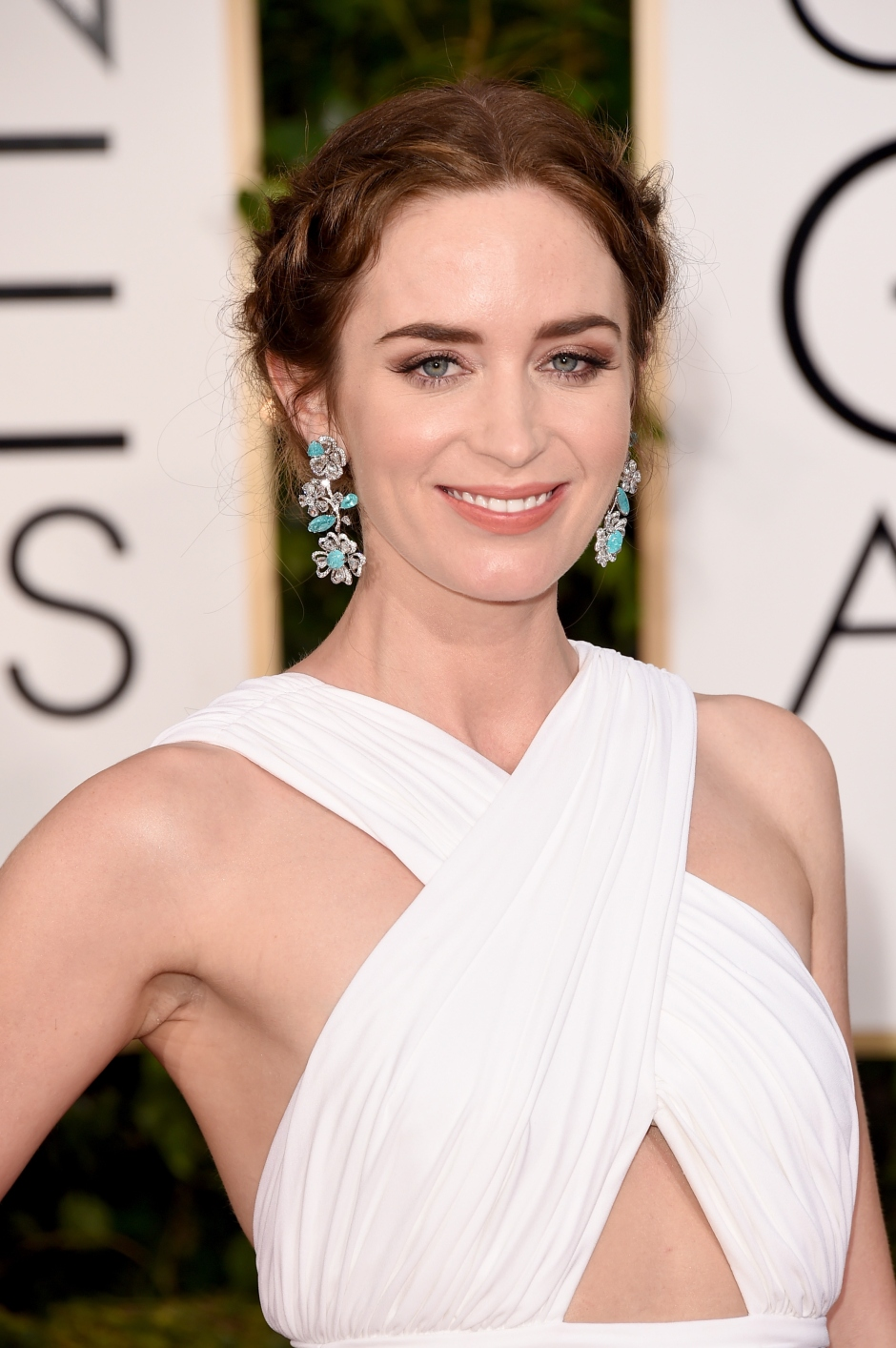 72nd Annual Golden Globe Awards Emily Blunt