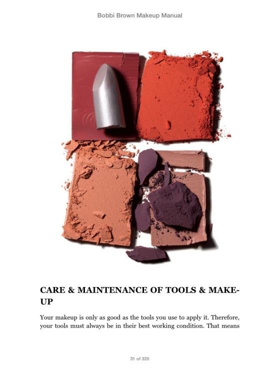 Bobbi Brown Makeup Manual inside1