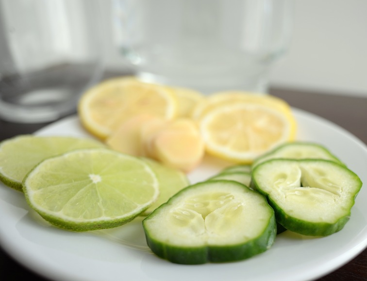 Detox Water ingredientes