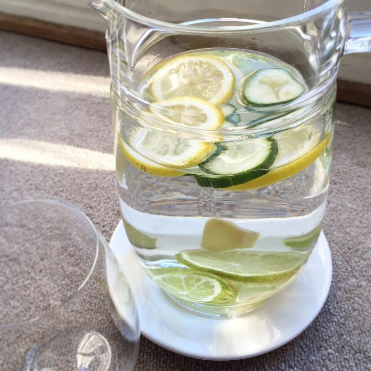 Detox Water Limon y Lima