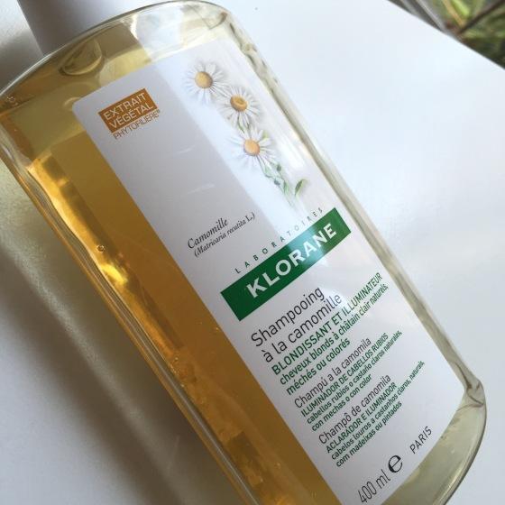 Un nuevo favorito: Shampoo a la Manzanilla de Klorane