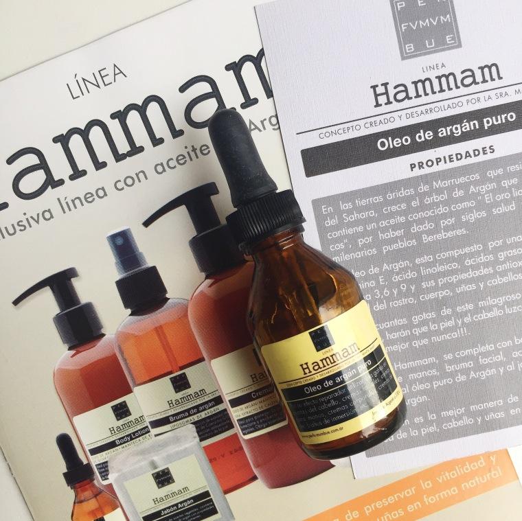 Aceite de Argan HAMMAM PERFUMUM BUE