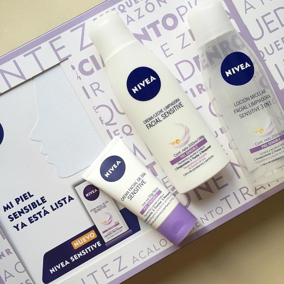 Nivea Sensitive: Cuidado facial para pieles sensibles al alcance de todos