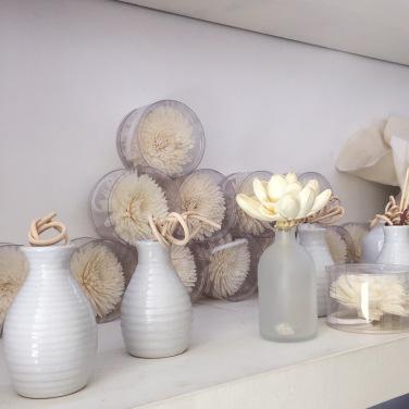 Per Fumum Bue, flores de tapioca