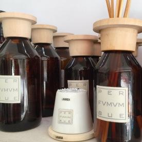 Per Fumum Bue, difusores aromaticos