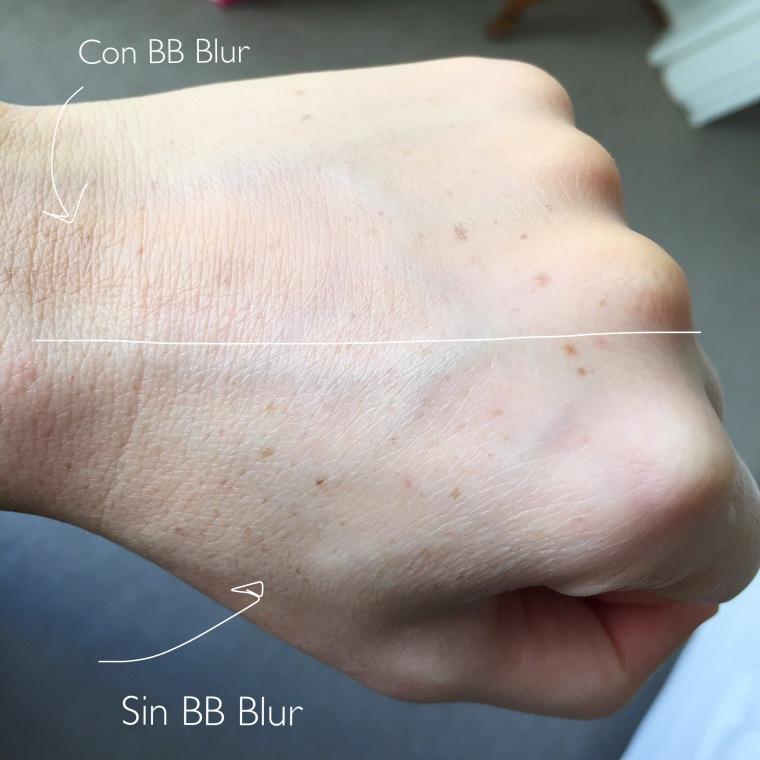 La Roche Posay Effaclar BB Blur - Swatch