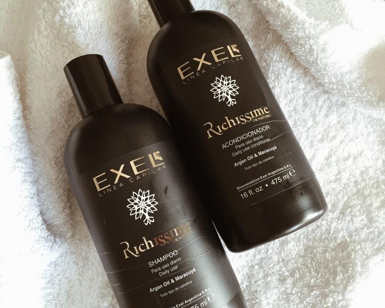 Shampoo y Acondicionador EXEL Richissime Or Naturel