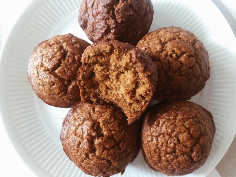 Muffins de zapallo y zanahoria