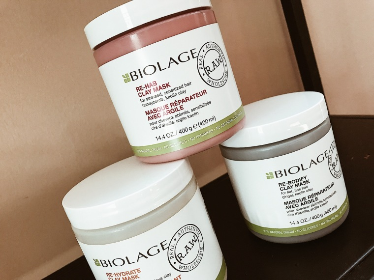 BIOLAGE RAW - Mascarillas