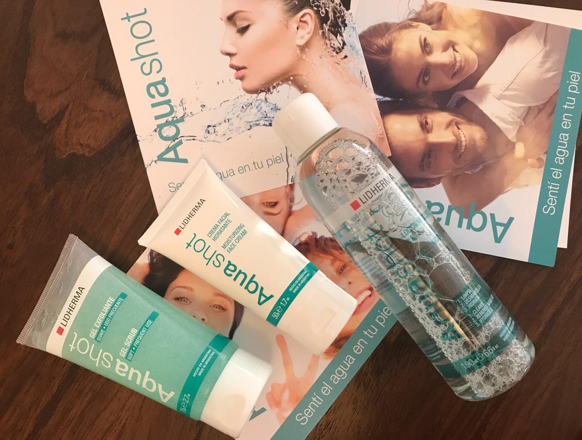Aqua Shot de Lidherma, cuidado clásico para una piel hidratada