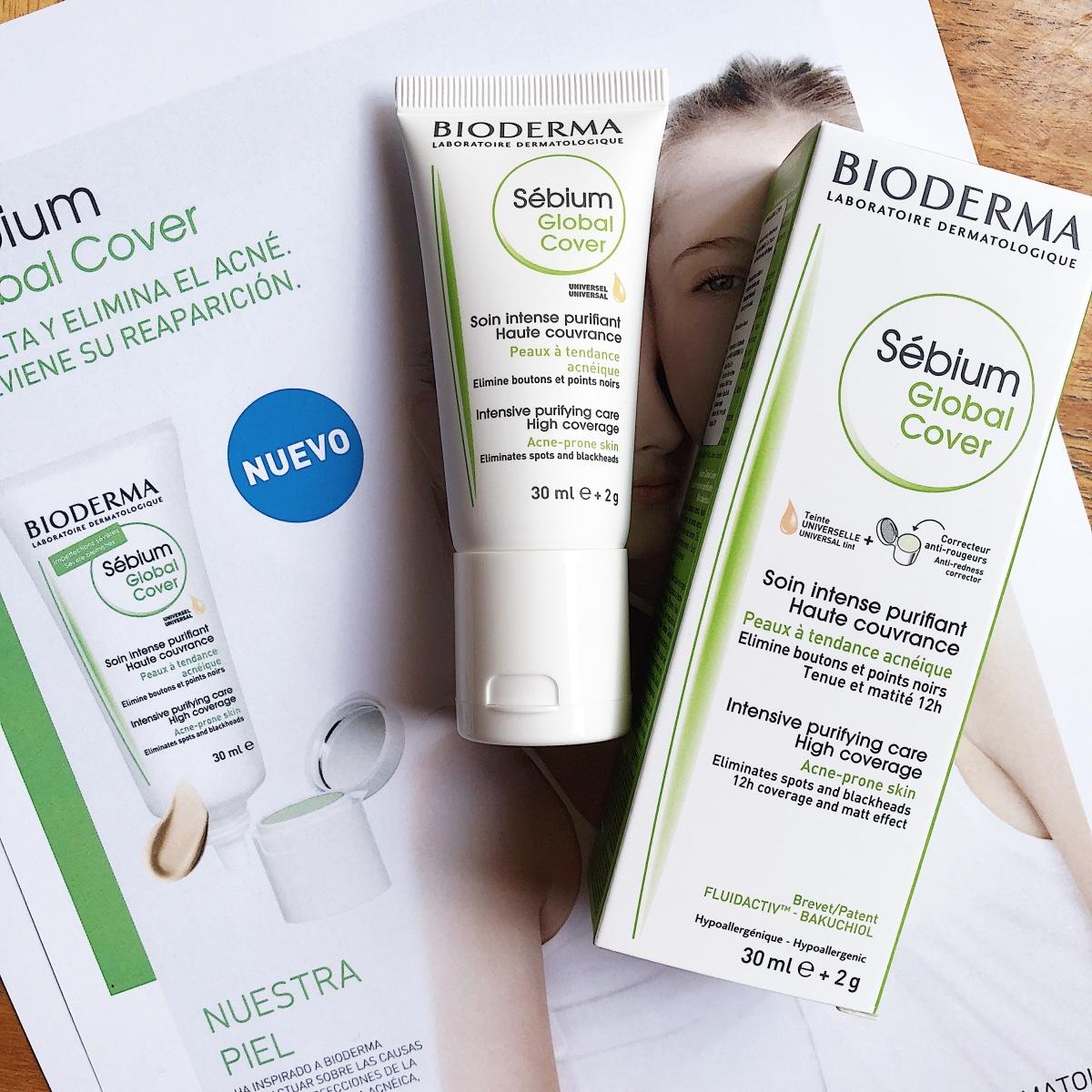 El maquillaje que trata las pieles acneicas: Sébium Global Cover de Bioderma